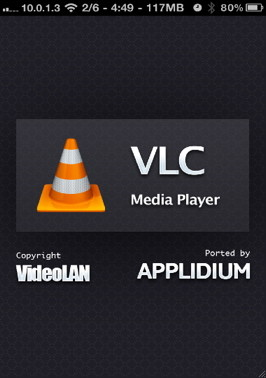 Play AVI to iPhone with VLC media player for the iPhone
