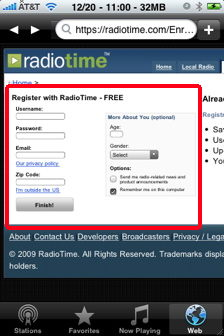wunder radio browser radiotime