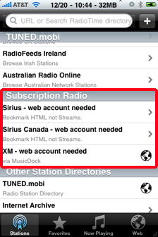 wunderradio subscription