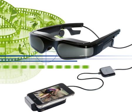 iPhone video glasses