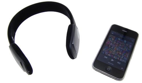 iPhone bluetooth headphone