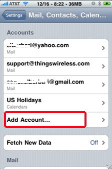 how to add mail account on iphone the iphone email application 1080